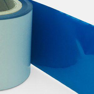 tinta de color azul metálico para impresoras térmicas.