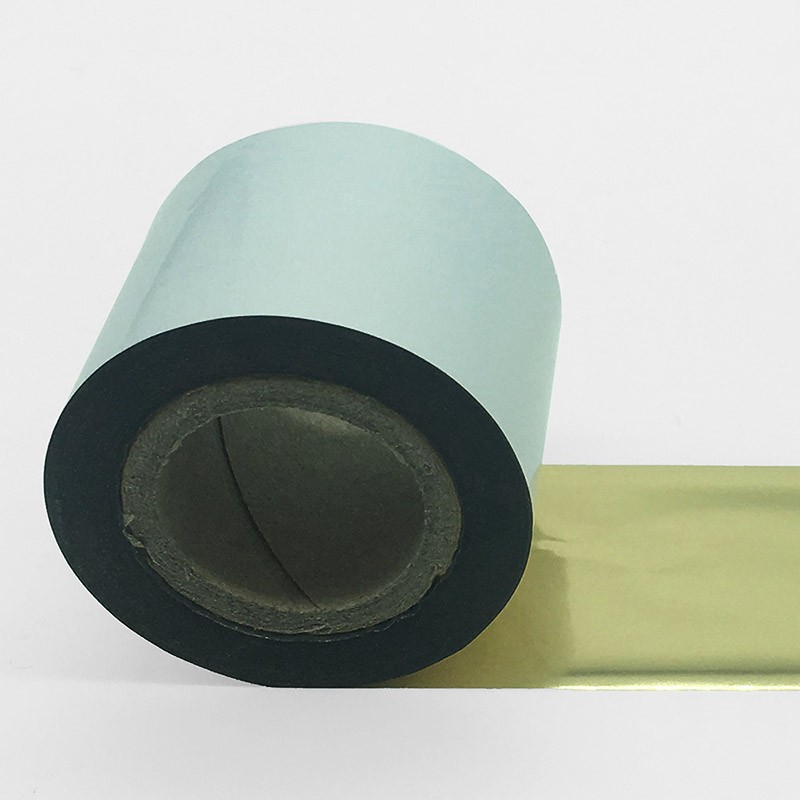 tinta de color oro metálico para impresoras térmicas.