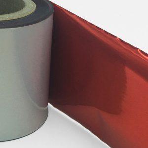 tinta de color rojo metálico para impresoras térmicas.