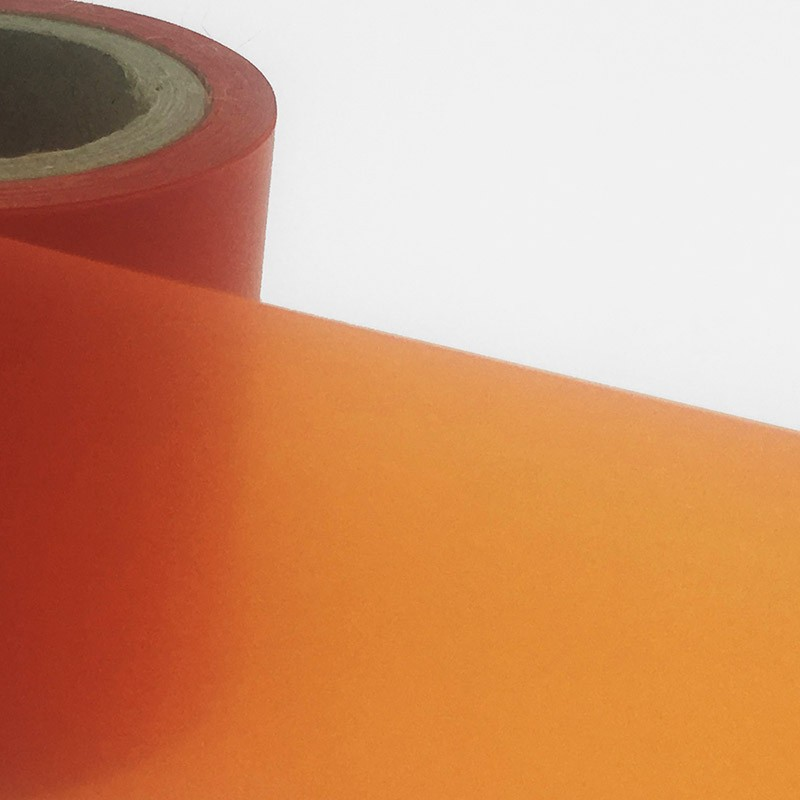 tinta naranja para impresoras térmicas.
