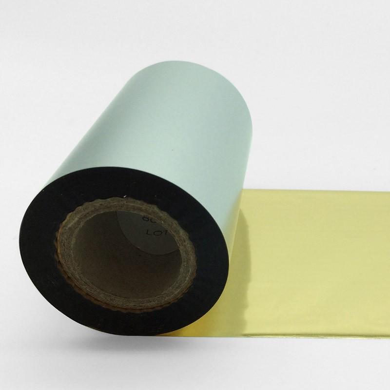 tinta seca corona metal oro para impresoras térmicas