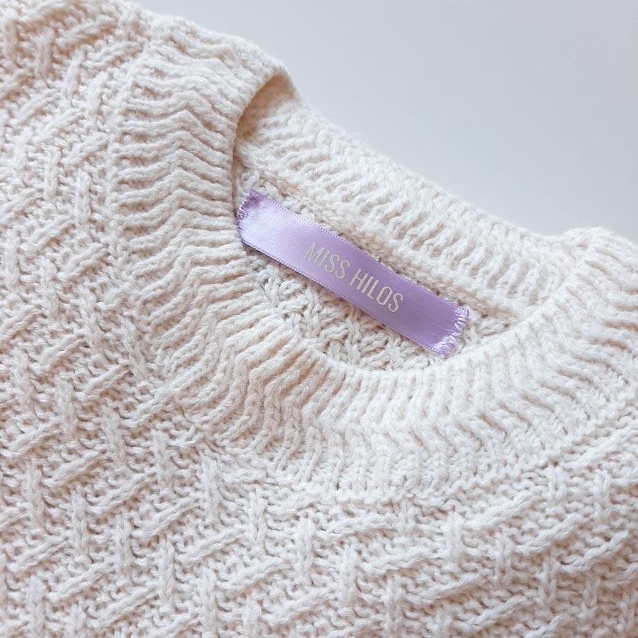 Crea etiquetas personalizadas para productos textiles