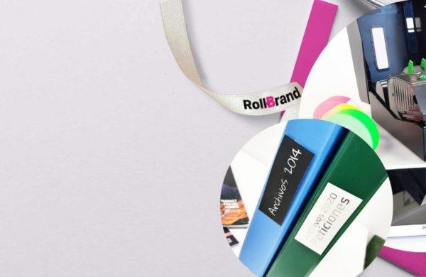 Adhesivos para Etiquetados con el Starter Pack de RollBrand