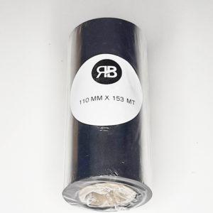 Ribbon Cera Térmica Negro110x150 (Caja 10u)