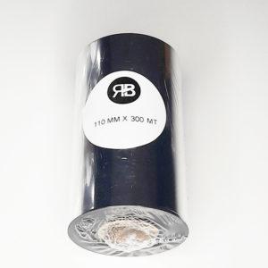 Ribbon Cera Térmica Negro110x300 (Caja 10u)