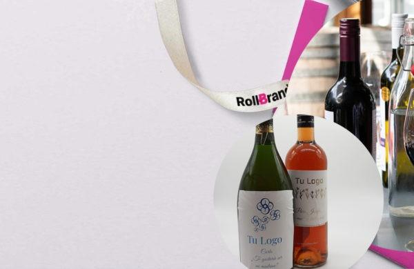 ¿Cuál es el mejor etiquetado para botellas de vino y cava?