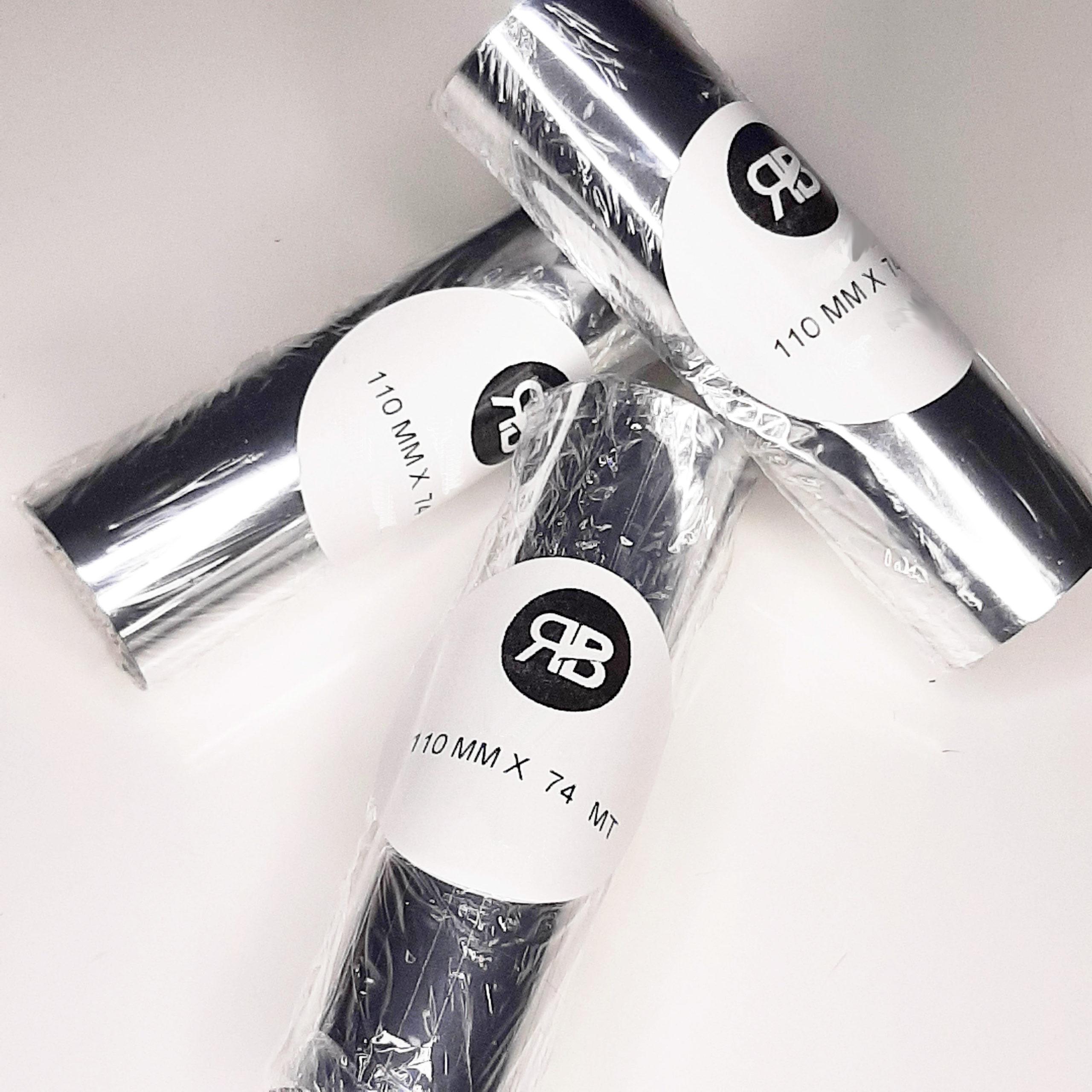 Ribbon Cera Térmica Negro110x74 (Caja 10u)